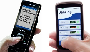 sms dan mobile banking