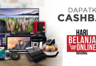 Promo Cashback Akhir Tahun di Blanja