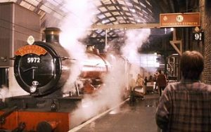 king cross station harry potter
