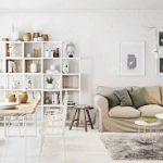 Desain Interior Hunian Bergaya Skandinavian