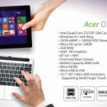 Acer One 10 Tablet dan Notebook Terbaru
