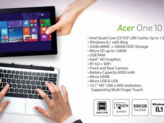 Acer One 10 Tablet-Notebook Terbaru