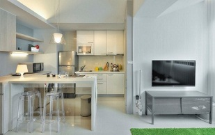 interior apartemen minimalis