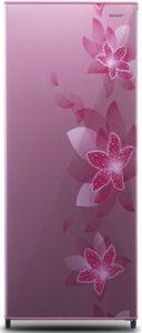 kulkas motif bunga