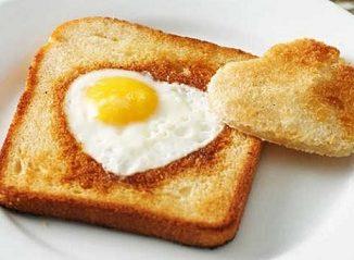 roti bakar telur setengah matang