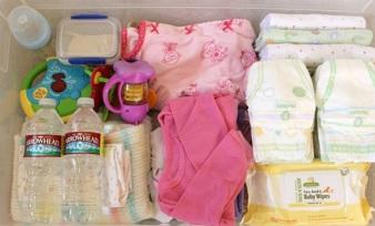 perlengkapan perjalanan bayi