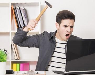 internet kantor lambat