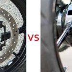Perbedaan Rem Cakram VS Rem Tromol pada Motor