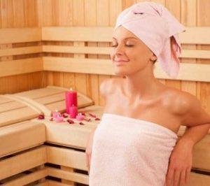 mandi sauna