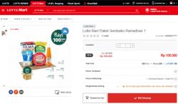 Lotte Mart Paket Sembako Ramadhan
