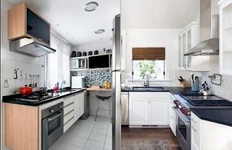 dapur minimalis apartemen