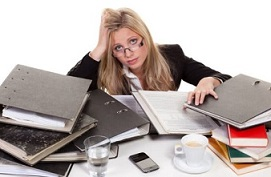 stres karena pekerjaan