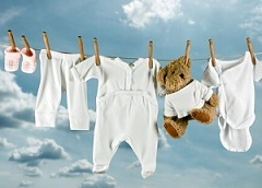 cuci pakaian bayi