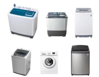 pilihan mesin cuci